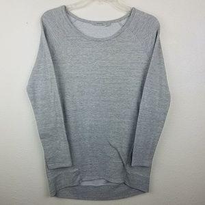 ATHLETA Gray Crewneck Athletic Sweater